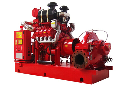 Smaller Fire Pump System