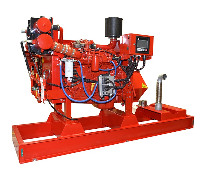 Large Fire Pump System