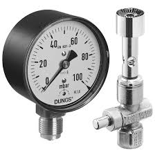 Image of a Dungs Pressure Gauge.