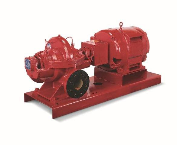 Red Fire Pump System