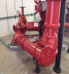 Fire Pump Sprinkler System